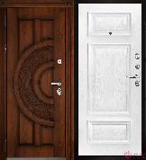 Входная металлическая дверь Двери Регионов Golden Атлант Мадрид Перла