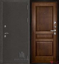Металлическая дверь REGIDOORS Антик Термо 3 Гармония Античный орех