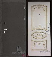 Металлическая дверь REGIDOORS Антик Термо 3 Багет-3