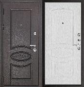 Входная металлическая дверь REGIDOORS Классика Премиум Ясень Жемчуг Анастасия