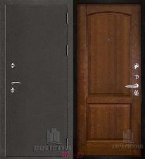 Металлическая дверь REGIDOORS Антик Термо 3 Фоборг Античный орех