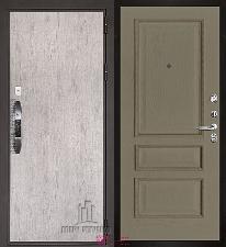Входная дверь Двери Регионов NEW Новатор Вена Нефрит