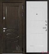 Входная металлическая дверь REGIDOORS Классика Премиум Ясень Жемчуг Лайт