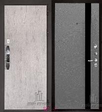 Входная дверь Двери Регионов NEW Новатор Uno Grigio