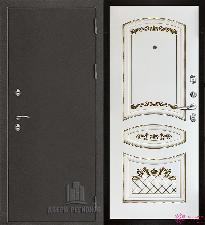 Металлическая дверь REGIDOORS Антик Термо 3 Алина
