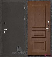 Металлическая дверь REGIDOORS Антик Термо 3 Вена Орех