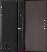 Металлическая дверь REGIDOORS Термодверь Норд Венге Лайт