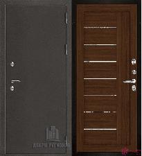 Металлическая дверь REGIDOORS Антик Термо 3 LIGHT 2110 Орех