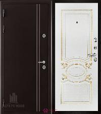 Металлическая дверь REGIDOORS Термодверь Норд коричневый Аристократ