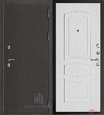 Металлическая дверь REGIDOORS Антик Термо 3 Анастасия Белый ясень