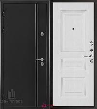 Металлическая дверь REGIDOORS Термодверь Норд Ясень Жемчуг Вена