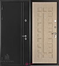 Металлическая дверь REGIDOORS Термодверь Норд Беленый дуб Стандарт