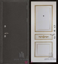 Металлическая дверь REGIDOORS Антик Термо 3 Лацио
