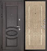 Входная металлическая дверь REGIDOORS Классика Премиум Анастасия Беленый дуб