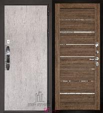 Входная дверь Двери Регионов NEW Новатор LIGHT 2125 Серый