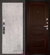 Входная дверь Двери Регионов NEW Новатор Оливия Орех