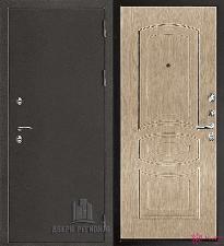 Металлическая дверь REGIDOORS Антик Термо 3 Анастасия Белёный дуб