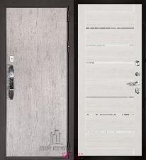Входная дверь Двери Регионов NEW Новатор LIGHT 2125 Капучино