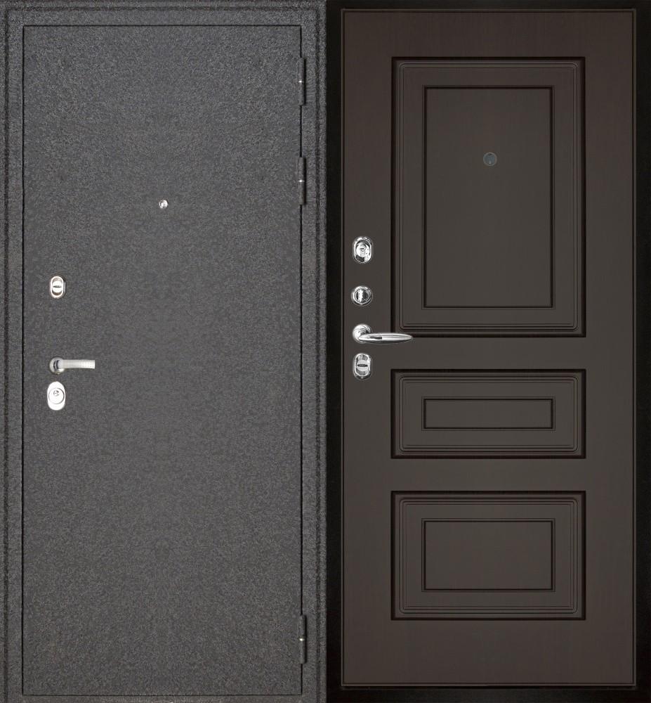 металлические двери в климовске для дачи