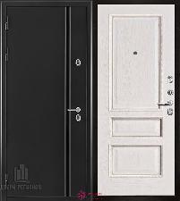 Металлическая дверь REGIDOORS Термодверь Норд Белый с патиной Вена