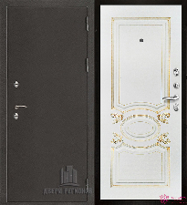 Металлическая дверь REGIDOORS Антик Термо 3 Аристократ