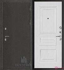 Металлическая дверь REGIDOORS Антик Термо 3 Вена Белый ясень