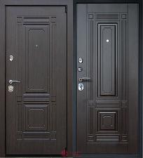 Дверь входная АСД Стальная Викинг Венге