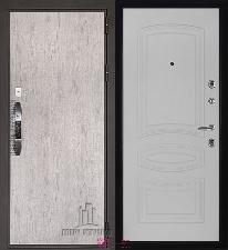 Входная дверь Двери Регионов NEW Новатор Анастасия Белый ясень
