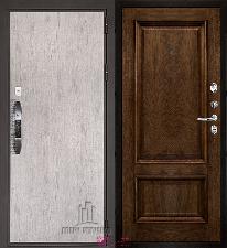 Входная дверь Двери Регионов NEW Новатор Корсика Дуб бренди