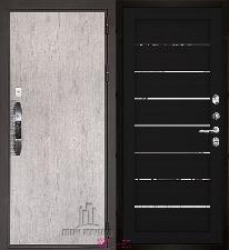 Входная дверь Двери Регионов NEW Новатор LIGHT 2125 Шоко