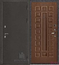 Металлическая дверь REGIDOORS Антик Термо 3 Стандарт Орех