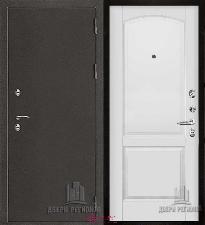 Металлическая дверь REGIDOORS Антик Термо 3 Фоборг Эмаль белая