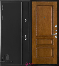 Металлическая дверь REGIDOORS Термодверь Норд Дуб Вена