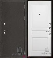 Металлическая дверь REGIDOORS Антик Термо 3 Гармония Эмаль белая