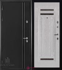 Металлическая дверь REGIDOORS Термодверь Норд Ясень Жемчуг Рим
