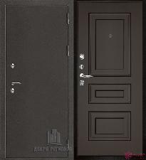 Металлическая дверь REGIDOORS Антик Термо 3 Вена Венге