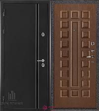 Металлическая дверь REGIDOORS Термодверь Норд Орех Стандарт