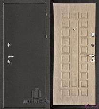 Металлическая дверь REGIDOORS Антик Термо 3 Стандарт Белёный дуб