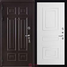 Дверь входная Двери Регионов Сенатор Марсель Меттэм Florence 6001 Серена белая