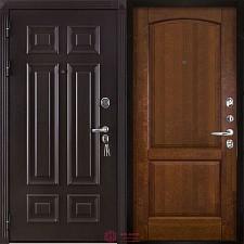 Дверь входная Двери Регионов Сенатор Марсель Меттэм Фоборг Античный орех