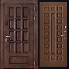 Металлическая дверь REGIDOORS Шпон Центурион Стандарт Орех
