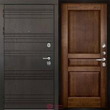 Входная дверь Двери Регионов 3К Министр Гармония Античный орех