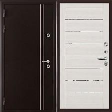 Металлическая дверь REGIDOORS Термодверь Норд коричневый 2125