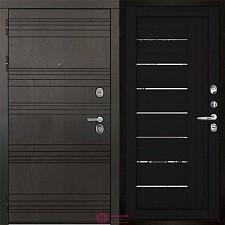 Дверь входная Двери Регионов 3К Министр 2110 Шоко