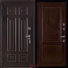 Дверь входная Двери Регионов Сенатор Марсель Меттэм Селена Античный орех