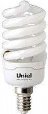 Лампочка энергосберегающая Спиральная Uniel 15w E14 230v 2700k 0lm 15W 2700K E14