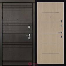 Дверь входная Двери Регионов 3К Министр МД 003 Беленый дуб