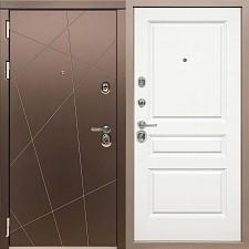 Дверь входная Сударь Soft-Touch МД-50 Белый М10