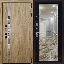 Входная дверь Двери Регионов 3К TESLA LW софт Зеркало