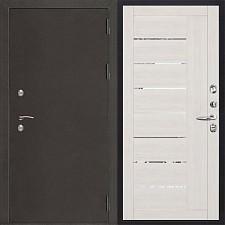 Металлическая дверь REGIDOORS Антик Термо 3 LIGHT 2110 Капучино